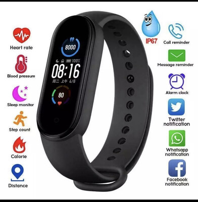 Waterproof  Fitness trakers Smartbands