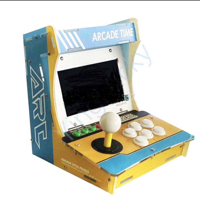 Mini Table top Retro gamer 1233 games built in