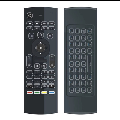 MX3 Wireless Backlit Air Mouse Smart Remote Control 2.4G R