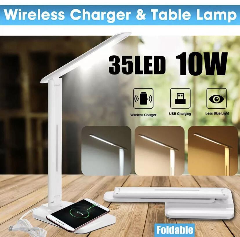Folding Wireless Charging Lamp