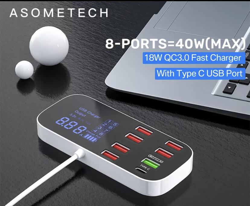 Quick Charging USB Hub