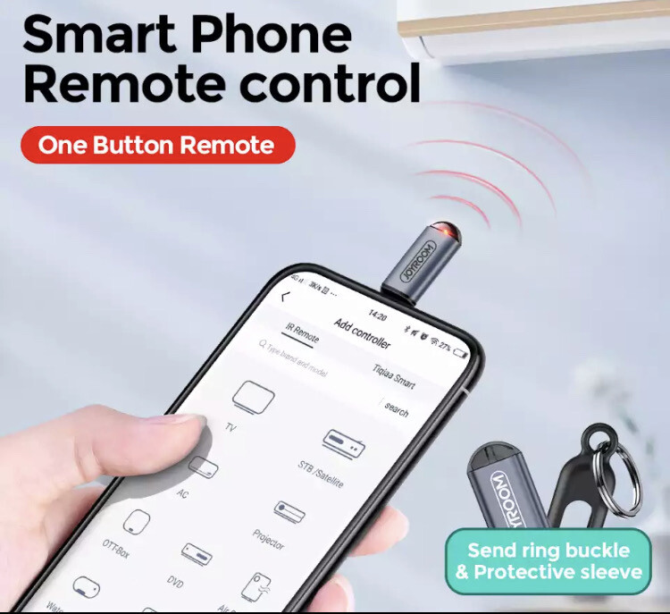 Universal Remote Controller Dongle For Mobile Devices