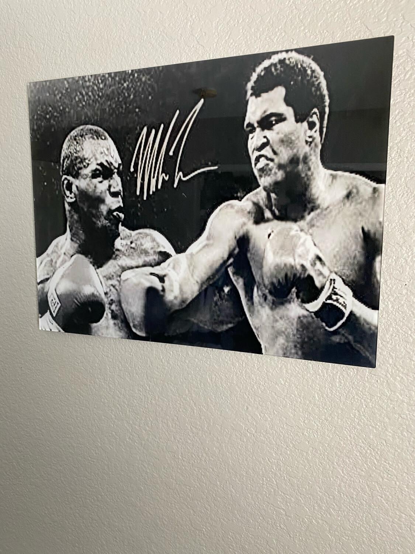 12x16 Acrylic Print Ali vs Tyson W/frame