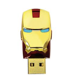 Marvels Iron Man 8GB USB 2.0 Flash Drive