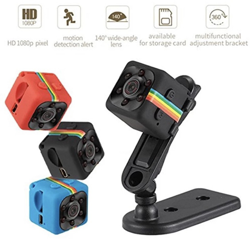 HD Mini Cam Night vision 1080p fits anywhere