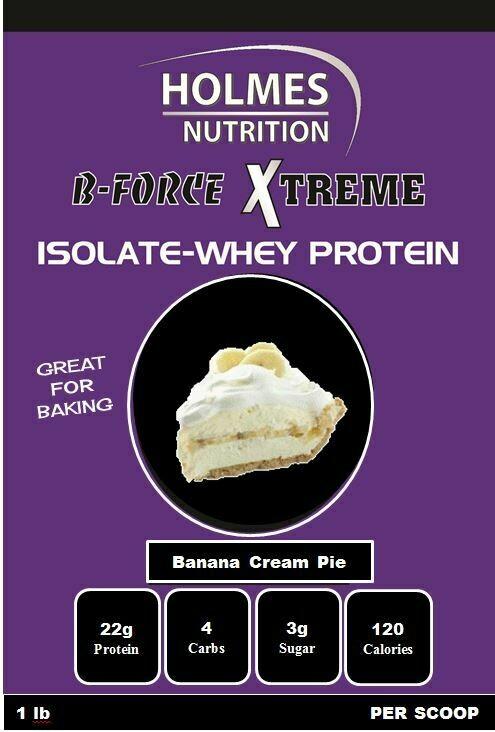 Banana Cream Pie Protein