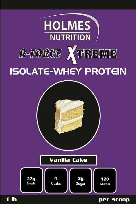 Vanilla Cake Protein