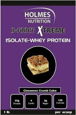 Cinnamon Crumb Cake Protein