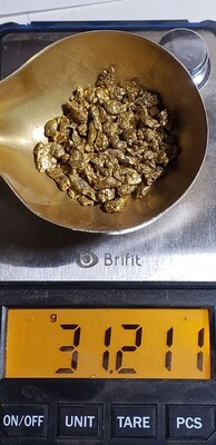 #6 Mesh Gold Nuggets - 1 ounce - 31.1 grams