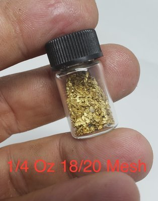 #18 Mesh Gold Nuggets - 1 gram of #18 gold