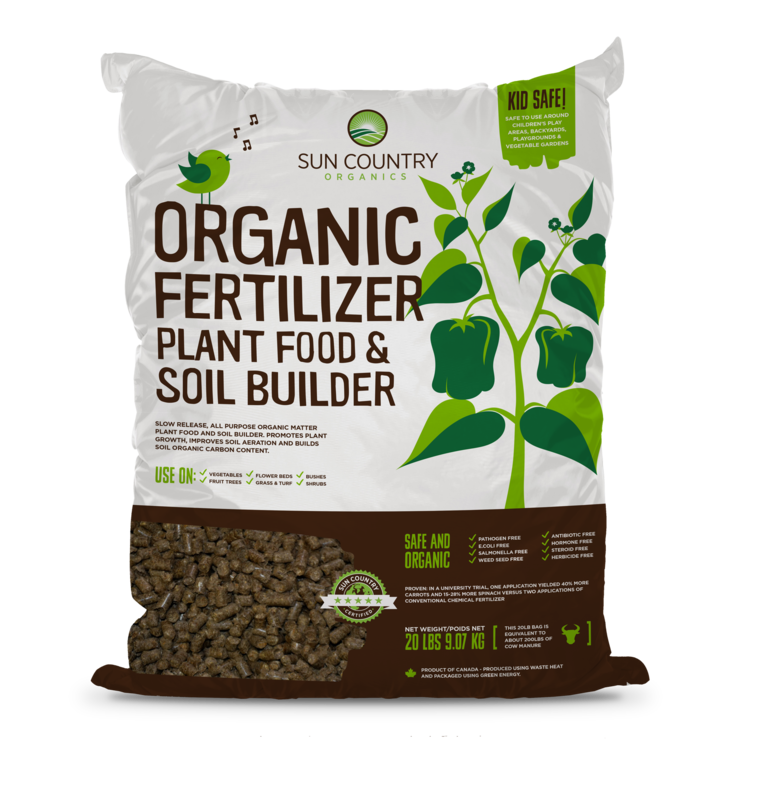 Organic Plant Food & Soil Builder, 20 lb.