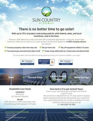There is no better time to go solar!