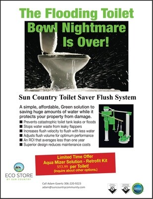 Sun Country Toilet Saver