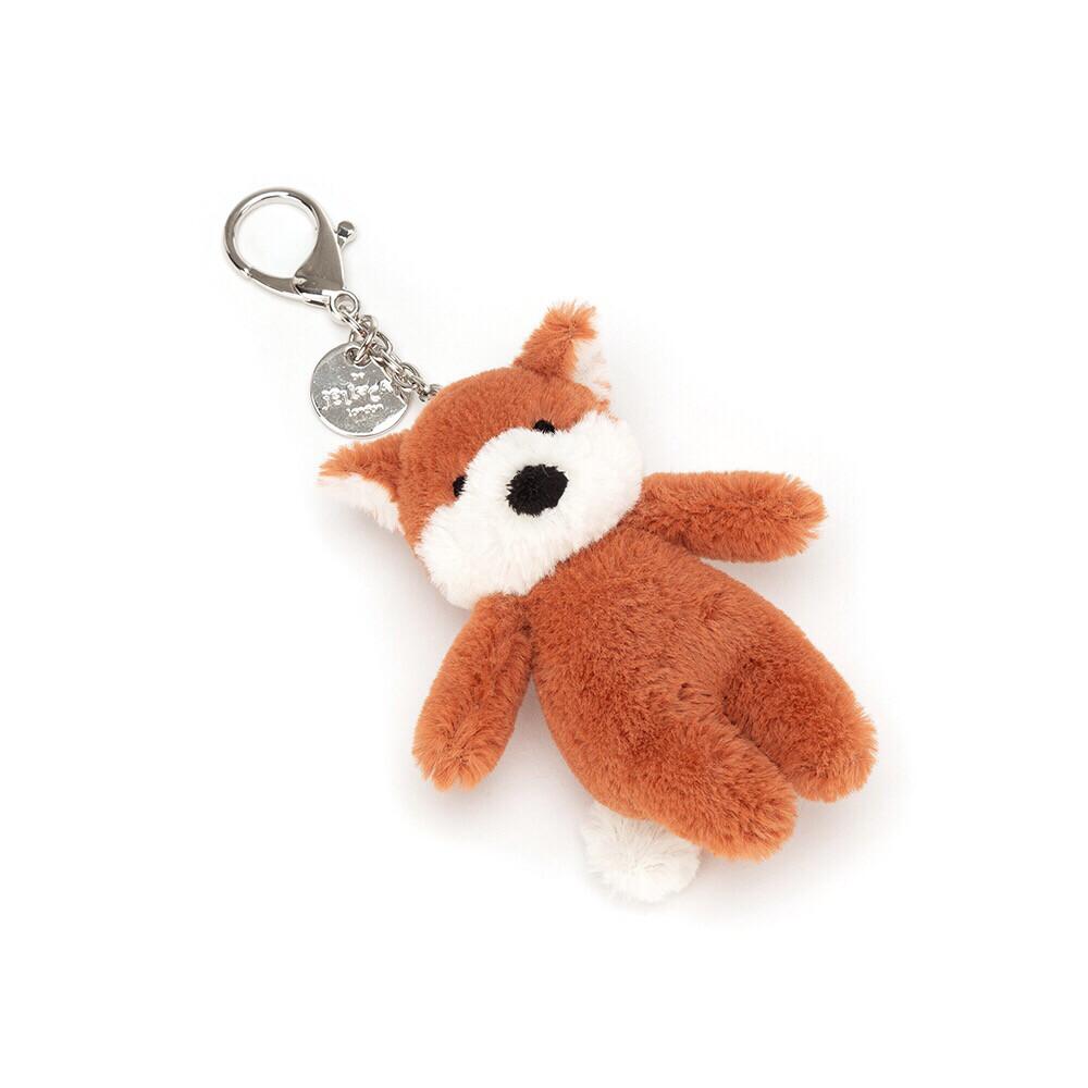Bashful Fox Bag Charm