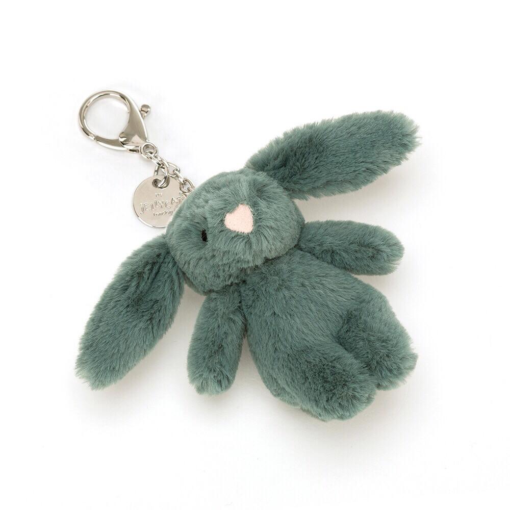 Forest Bashful Bunny Bag Charm