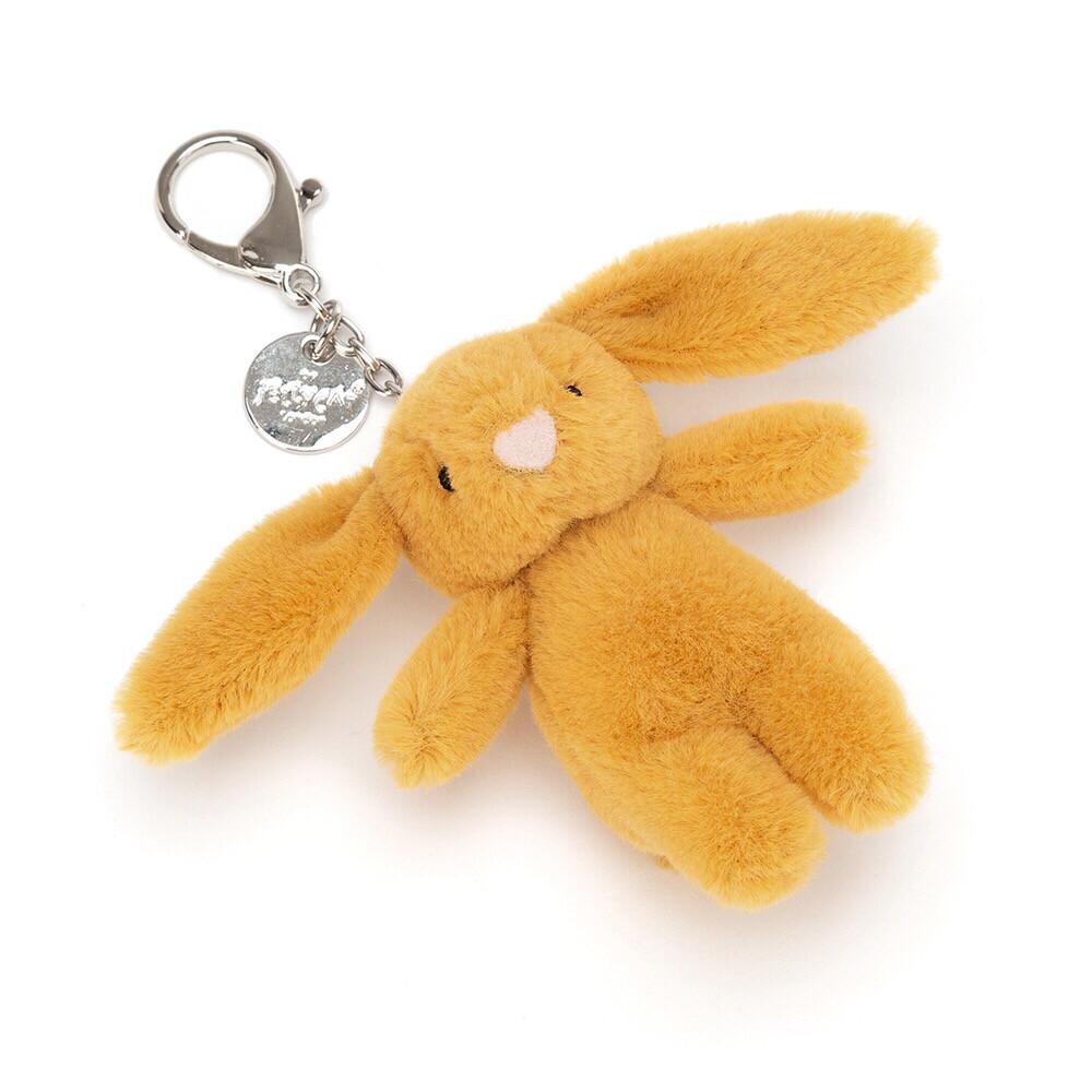 Saffron Bashful Bunny Bag Charm