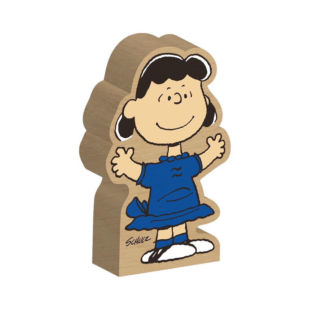 Lucy Van Pelt Block Figure