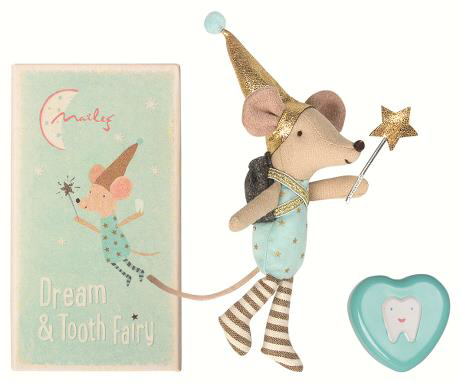 Tooth fairy big brother mouse with metal box