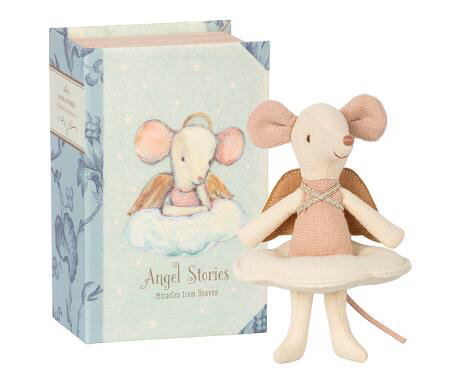Angel mouse - big sister in book