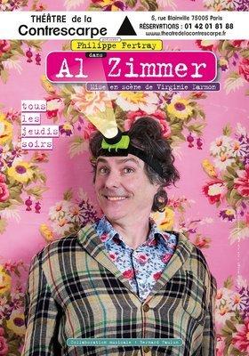 """Affiche """"Al Zimmer"""" 40x60"""