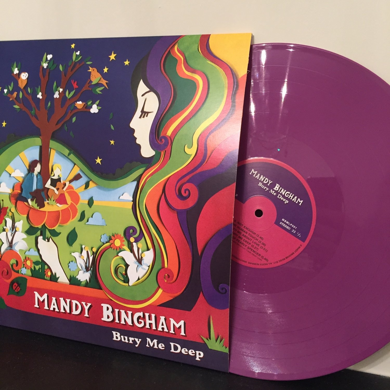 Bury Me Deep Album - Limited Edition Purple Vinyl