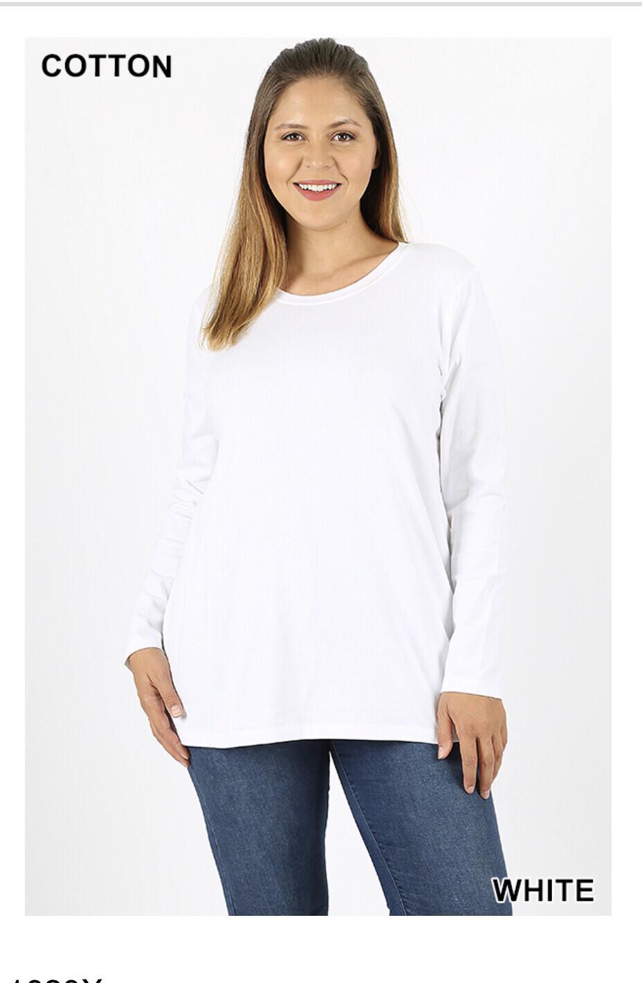 Plus Cotton Shirt