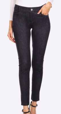 Vintage Mid-Rise Pull On Jeggings