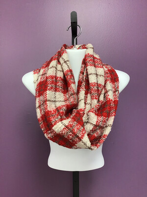 Infinity Scarf Plaid