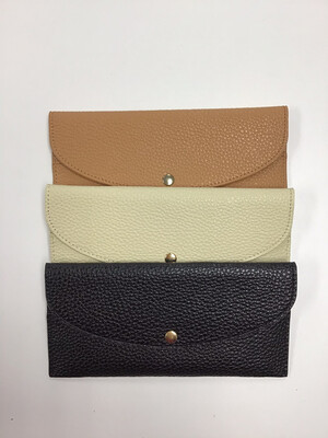 Faux Leather Skinny Wallets