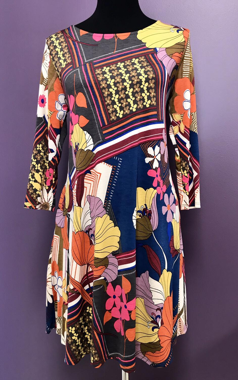 Multi Patterned Dress
