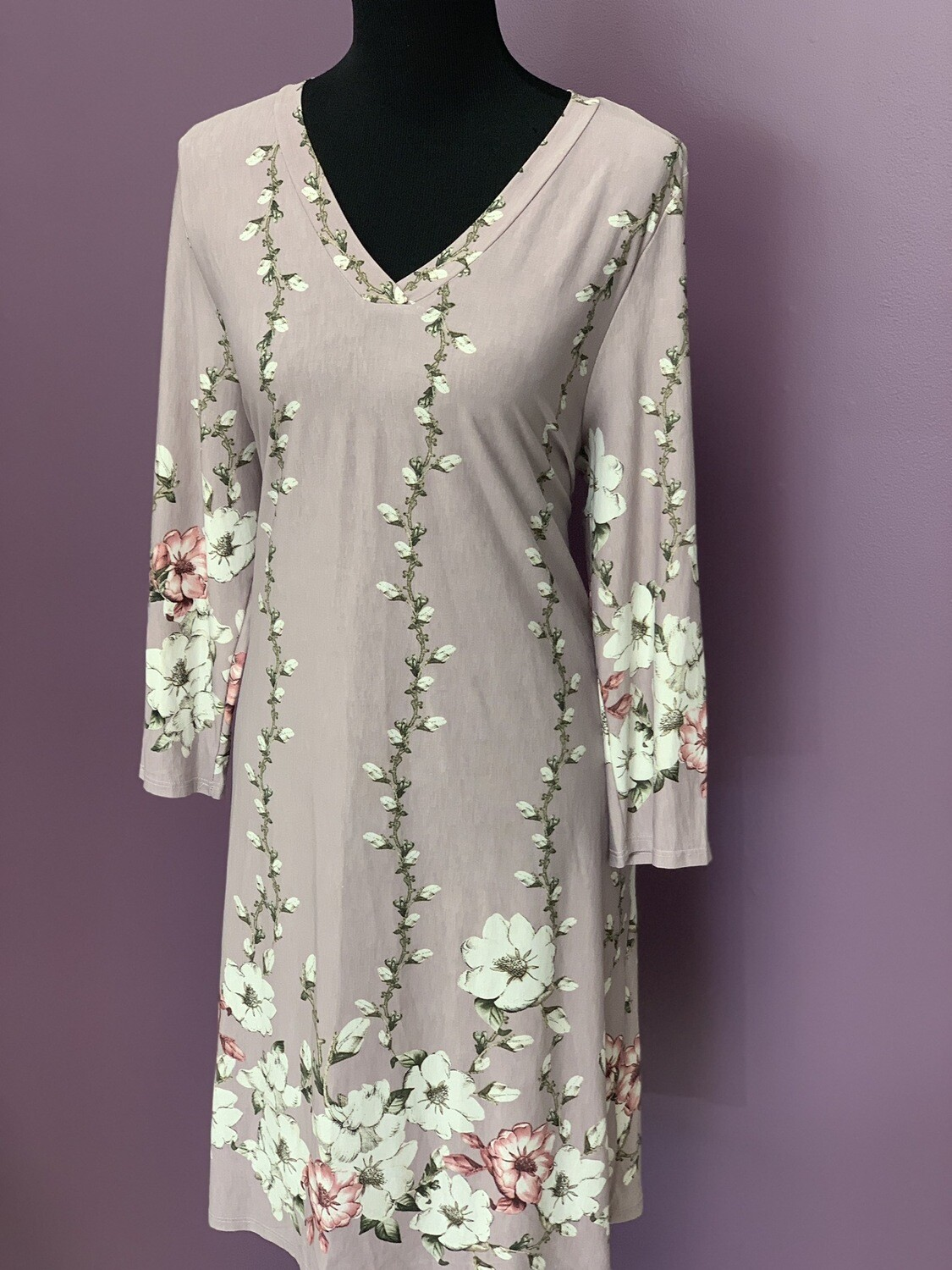 Plum And Ivory Dress Plus