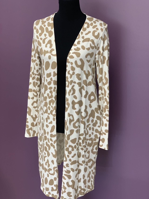 Leopard cardi