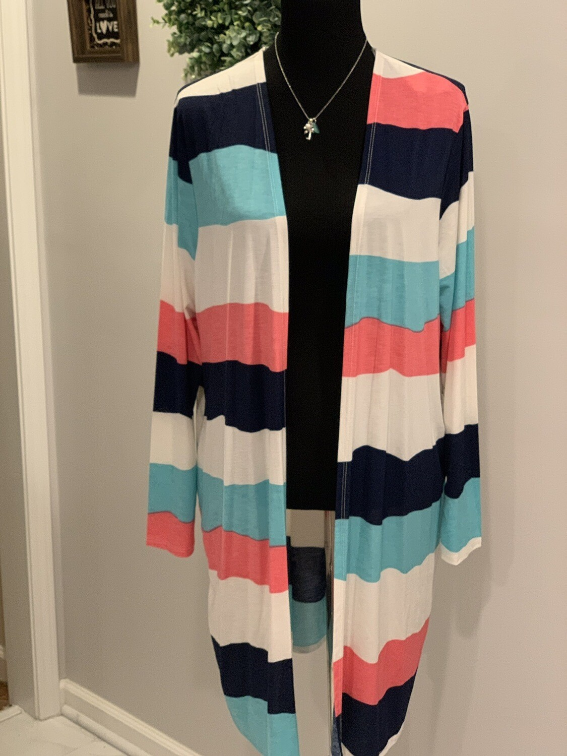 Lucky Striped Cardi