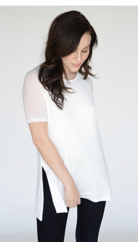 Mesh Shoulder Shirt
