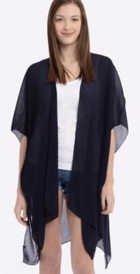 Pleated  Kimono