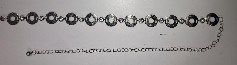 Round Metal Chain Belt