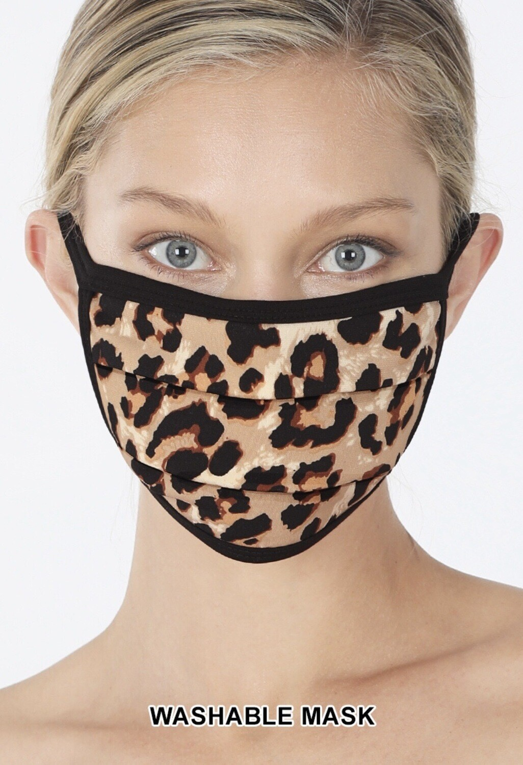 Leopard Face Mask