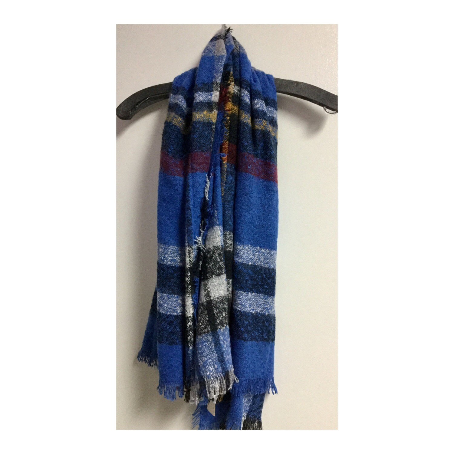 Blue/Red Scarf