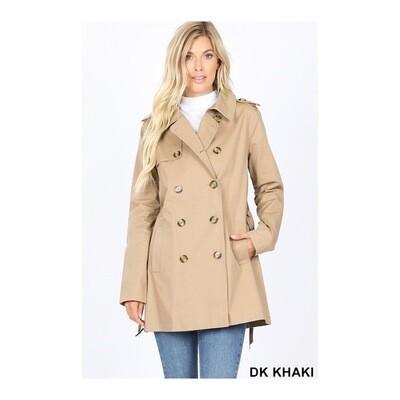 Khaki Pea Coat