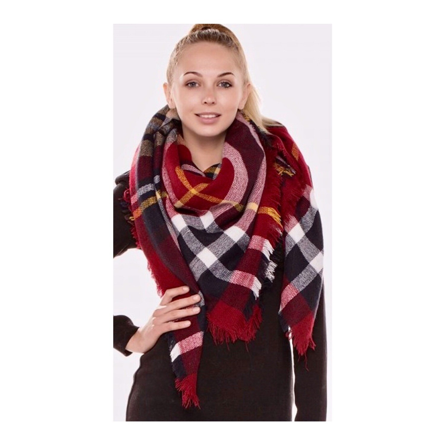 Your Dads Flannel Scarf