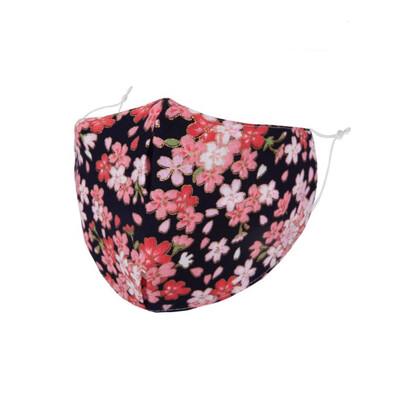 Black Cherry Blossom Face Mask