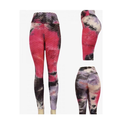 Tie Dye Butt Scrunch Leggings
