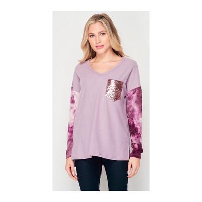 Lavender Sweatshirt