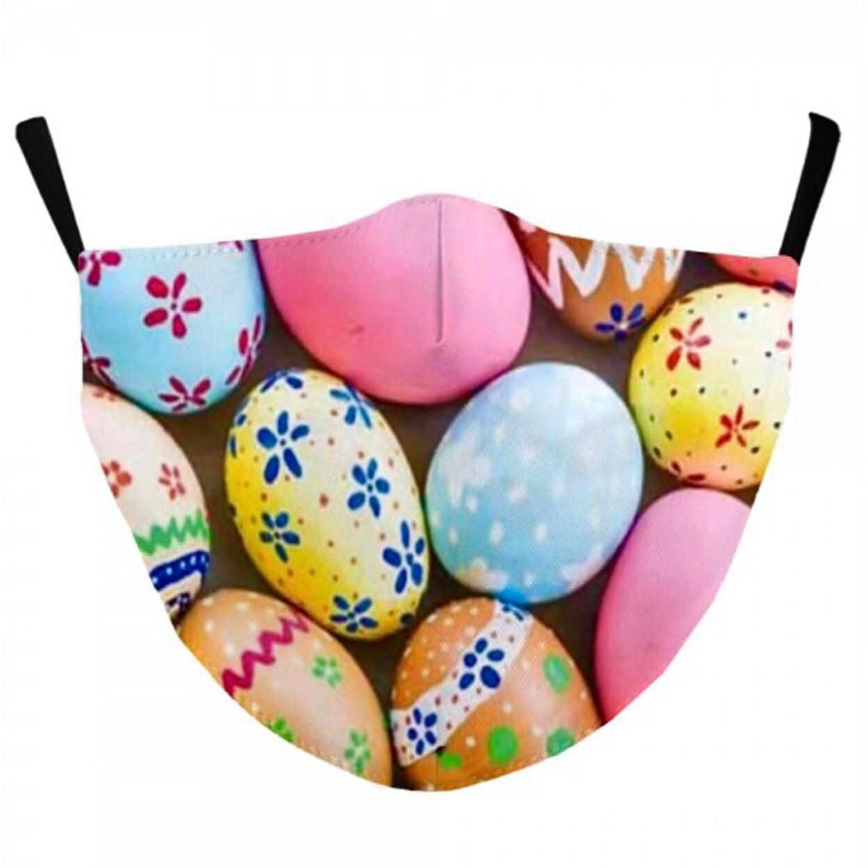 Easter Egg Face Mask