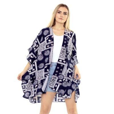 Paisley Outline Kimono
