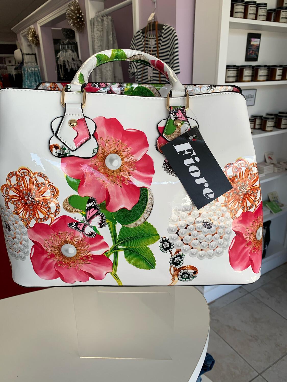 Floral Design Inspired Purse