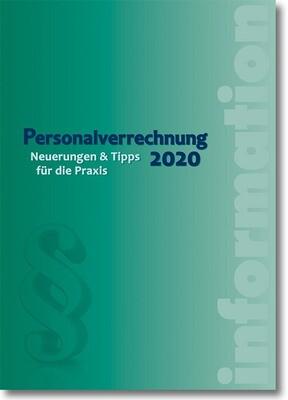 Personalverrechnung 2020