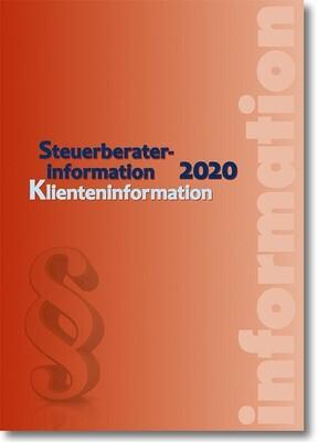 Steuerberaterinformation / Klienteninformation 2020
