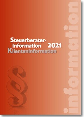 Steuerberaterinformation / Klienteninformation 2021