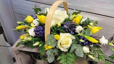 Spring Trug Basket
